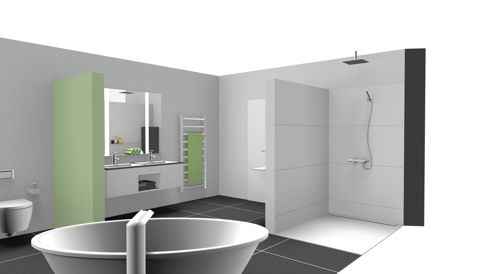 actica GmbH – actica planen & einrichten » 3D-Planung Bad
